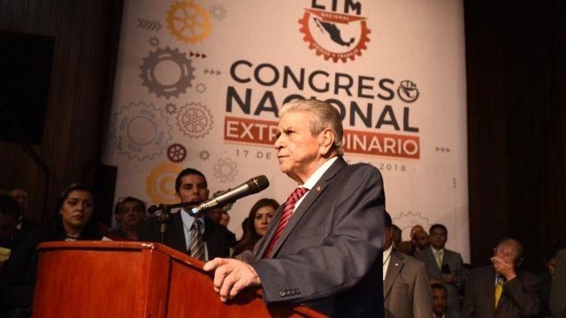 Carlos Aceves del Olmo asume dirigencia de la CTM