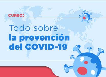 """IMSS lanza curso en línea """"Todo sobre la prevención del COVID-19"""""""