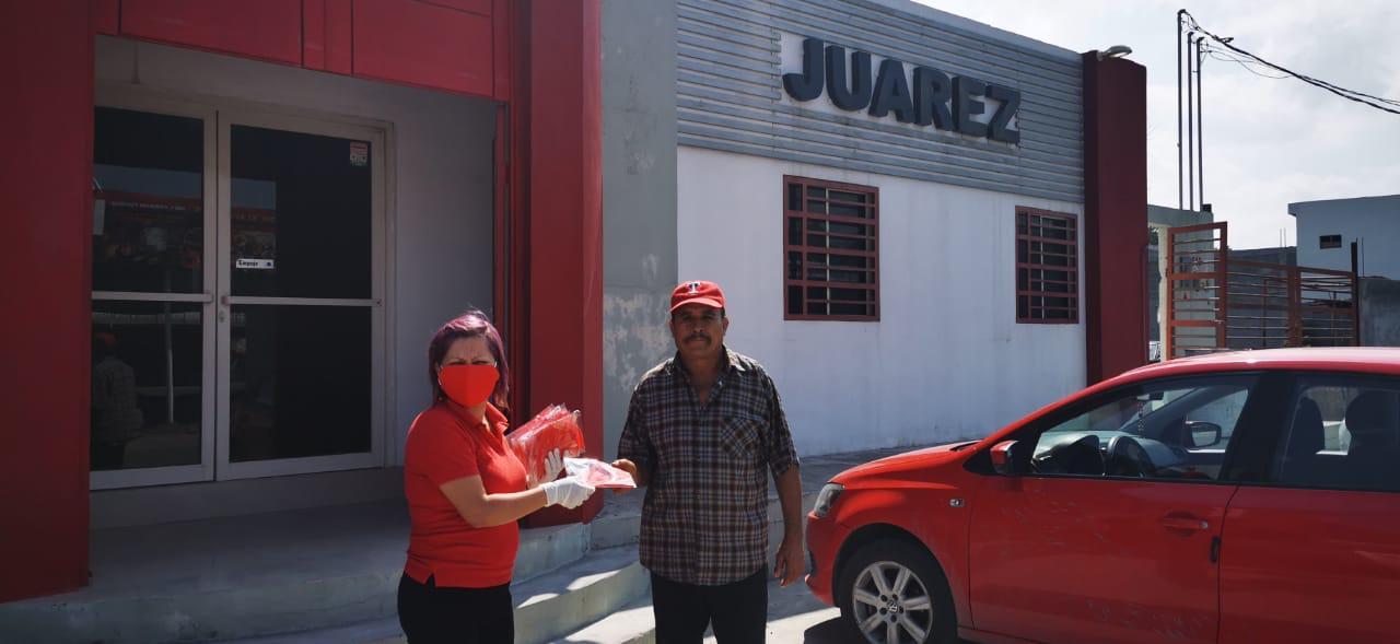 Reinician actividades comerciantes y transportistas de CTM Juárez en un entorno de salud.
