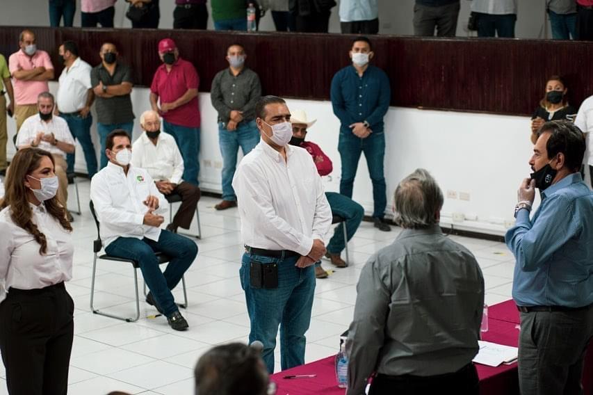 Da CTM Nuevo León respaldo a Heriberto Treviño