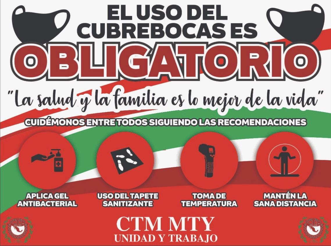 Comerciantes de CTM Monterrey cumplen con todas las medidas de prevención ante el COVID19