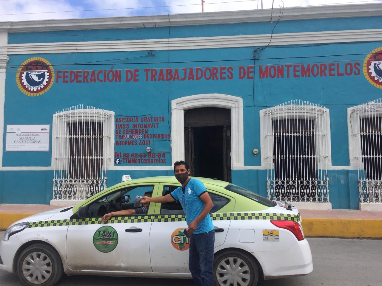CTM Montemorelos entrega cubrebocas a trabajadores que reanudan labores