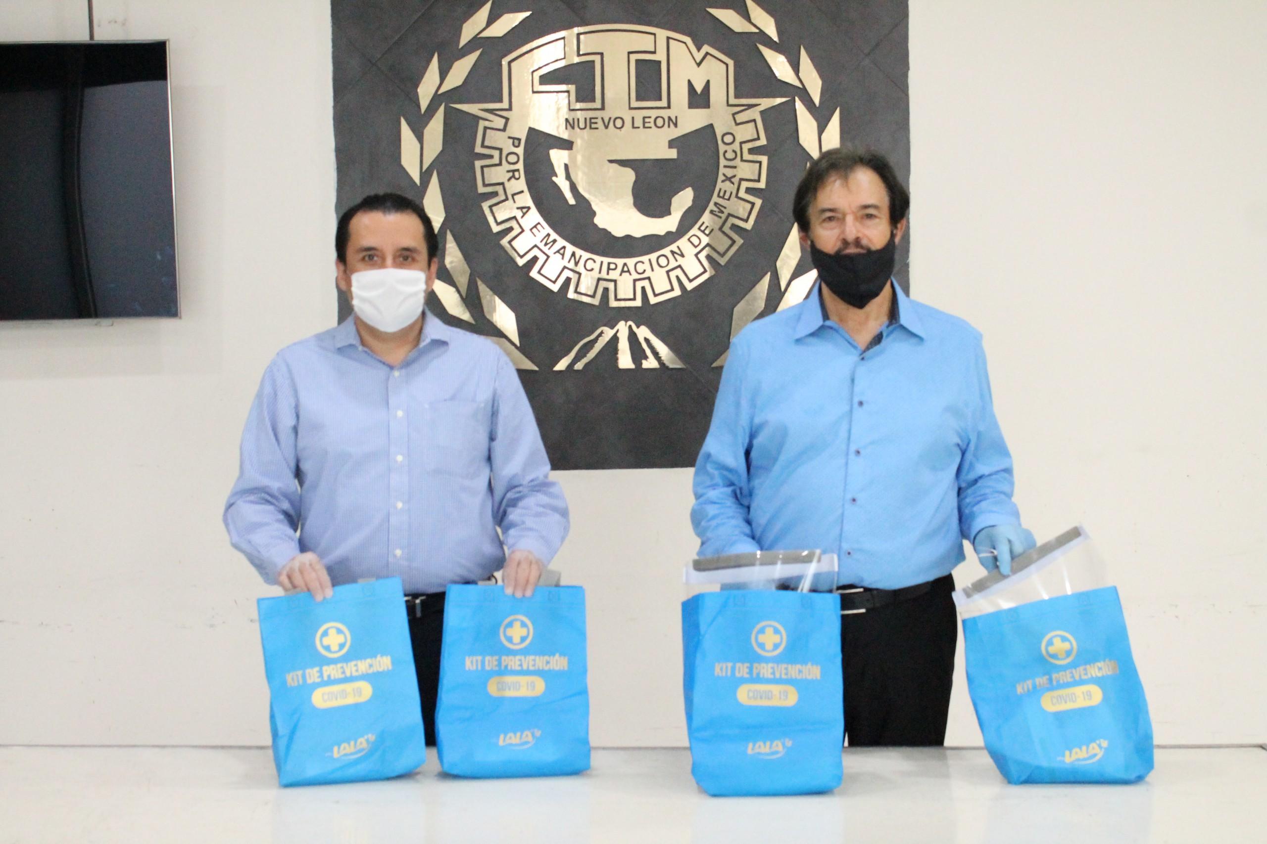 Apoya Grupo Lala con kits de prevención ante Covid19